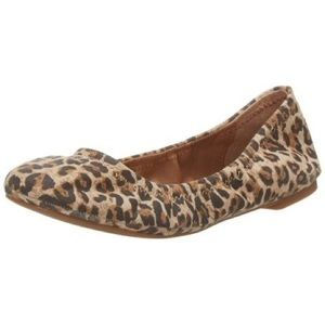 Lucky Brand Emmie flats in leopard canvas print, 9